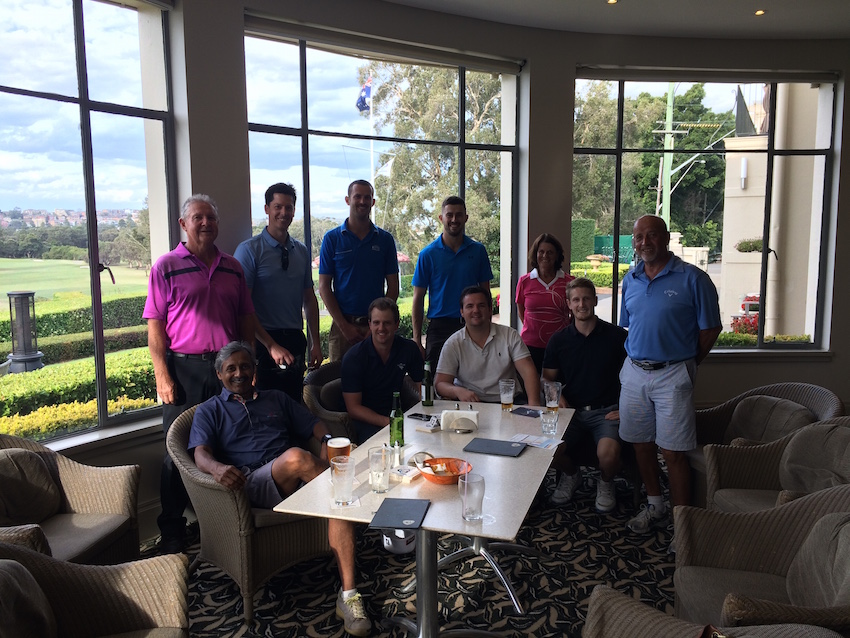 Envy Golf Day 2016 held at Manly Golf Club
